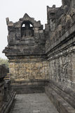 Buddhist temple of Borobudur, Java Royalty Free Stock Photo