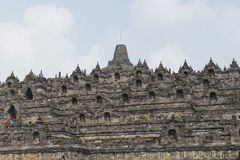 Buddhist temple of Borobudur, Java Royalty Free Stock Photography