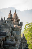 Buddhist temple Borobudur, Magelang, Indonesia Stock Photography