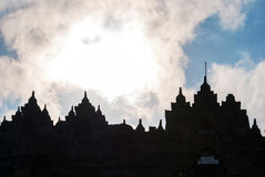 Buddhist temple Borobudur, Magelang, Indonesia Royalty Free Stock Image