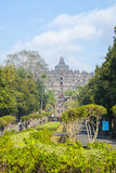 Buddhist temple Borobudur, Magelang, Indonesia Stock Images
