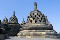 Buddhist temple Borobudur. Yogyakarta Stock Photo