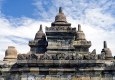 Buddhist temple Borobudur. Yogyakarta. Java Stock Photo