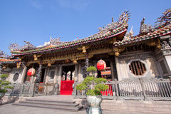 Buddhist temple building royalty free stock photography