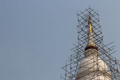 Buddhist temple is building. 2014 at Thailand Stock Images