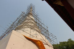 Buddhist temple is building. 2014 at Thailand Stock Photography