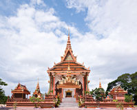 Buddhist Temple in Cambodia Royalty Free Stock Photo