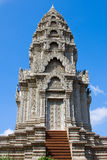 Buddhist temple in Cambodia . Royalty Free Stock Photography
