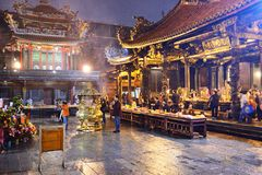 Buddhist Temple Royalty Free Stock Photos