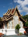 Buddhist Temple in Chiang Mai Stock Photo