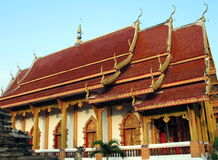 Buddhist Temple, Chiang Mai. A buddhist temple in Chiang Mai, Thailand Stock Photos