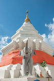 Buddhist temple, Chiang Mai, Thailand.  Royalty Free Stock Image