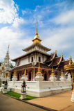 Buddhist temple in Chiang Mai Thailand Royalty Free Stock Photos