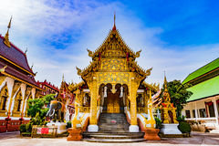 Buddhist temple Chiang Mai, Thailand Stock Photo