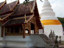 Buddhist temple in Chiang Mai thailand Stock Photos