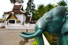 Buddhist temple in Chiang Mai, Thailand Royalty Free Stock Image