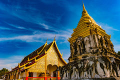 Buddhist temple Chiang Mai, Thailand Royalty Free Stock Image