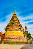 Buddhist temple Chiang Mai, Thailand Stock Photography