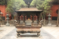 Buddhist temple in China Stock Images