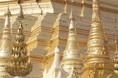 Buddhist temple complex Shwedagon is a historical symbol of Buddhism, Myanmar. Buddhist temple complex Shwedagon is a historical symbol of Buddhism, Yangon stock image