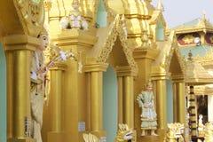 Buddhist temple complex Shwedagon is a historical symbol of Buddhism, Myanmar. Buddhist temple complex Shwedagon is a historical symbol of Buddhism, Yangon stock photo
