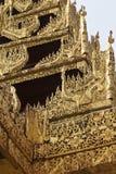 Buddhist temple complex Shwedagon is a historical symbol of Buddhism, Myanmar. Buddhist temple complex Shwedagon is a historical symbol of Buddhism, Yangon royalty free stock photo