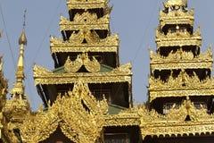 Buddhist temple complex Shwedagon is a historical symbol of Buddhism, Myanmar. Buddhist temple complex Shwedagon is a historical symbol of Buddhism, Yangon stock photos