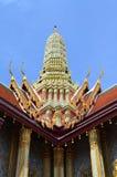 Buddhist temple corner Royalty Free Stock Image