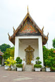 Buddhist temple courtyard Royalty Free Stock Images