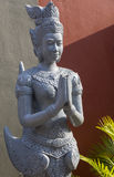 Buddhist temple decoration in Phnom Penh Stock Images