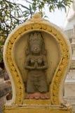Buddhist temple decoration in Phnom Penh Stock Photography