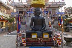 Buddhist temple decoration in Phnom Penh Royalty Free Stock Photos