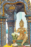 Buddhist temple detail in Bangkok Thailand Royalty Free Stock Images