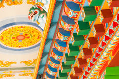 Buddhist temple details Stock Images