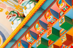 Buddhist temple details Stock Photo