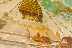 Buddhist temple details Royalty Free Stock Photos