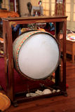 Buddhist temple drum Royalty Free Stock Photo