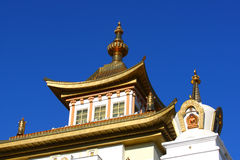 Buddhist temple.Elista.Kalmykia.Russia. Stock Image