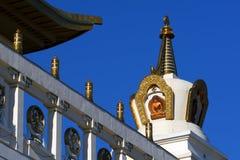 Buddhist temple.Elista.Kalmykia.Russia. Royalty Free Stock Image