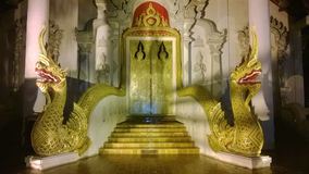 Buddhist Temple Entrance Royalty Free Stock Photography