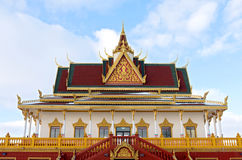 Buddhist Temple Facade and Entrance Stock Image