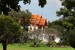 Buddhist temple in forest Stock Photo