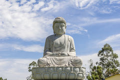 Buddhist Temple, Foz do Iguacu, Brazil. stock photo