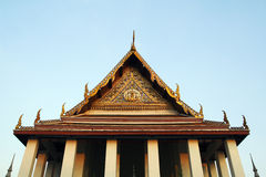 Buddhist temple gable Stock Image