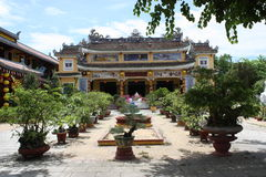 Buddhist Temple Garden Royalty Free Stock Photography