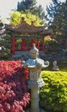 Buddhist Temple Garden Stock Photos