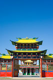 Buddhist temple gate Royalty Free Stock Image