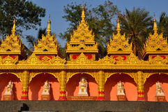 Mumbai buddhist temple Stock Photo