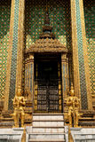 Buddhist temple in grand palace bangkok thailand Royalty Free Stock Photo