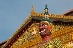 Buddhist Temple Guardian, Penang Stock Image